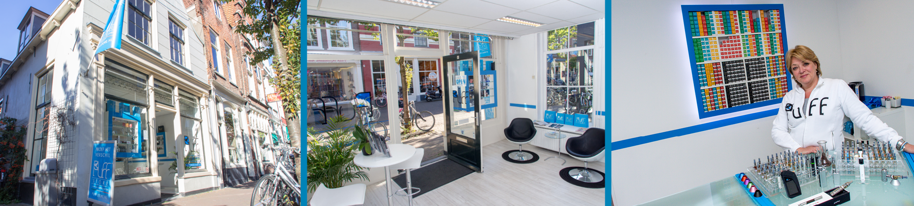 Puff Store Delft header