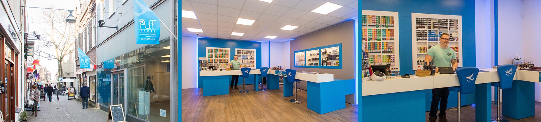 Puff Store Zwolle header