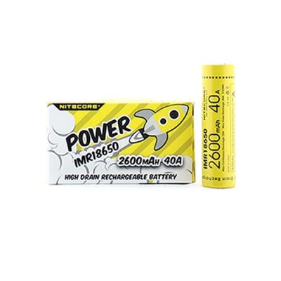 Nitecore 18650 batterij 2600 mAh [PVB004]