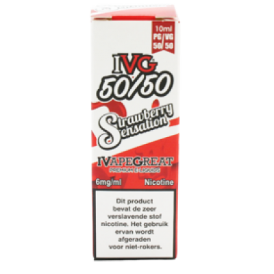 IVG Strawberry Sensation 6mg [DLI011-NL]