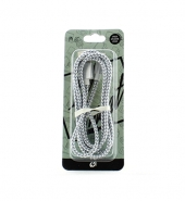 USB Kabel IPhone grijs & wit [PVC025]