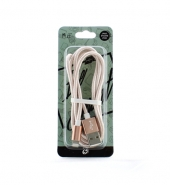 USB Kabel IPhone goud & silver [PVC026]