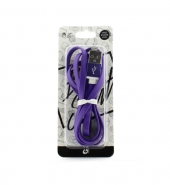 USB Kabel IPhone paars [PVC030]