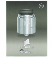 Vandy Vape Widowmaker RDA Zilver [DHB032]
